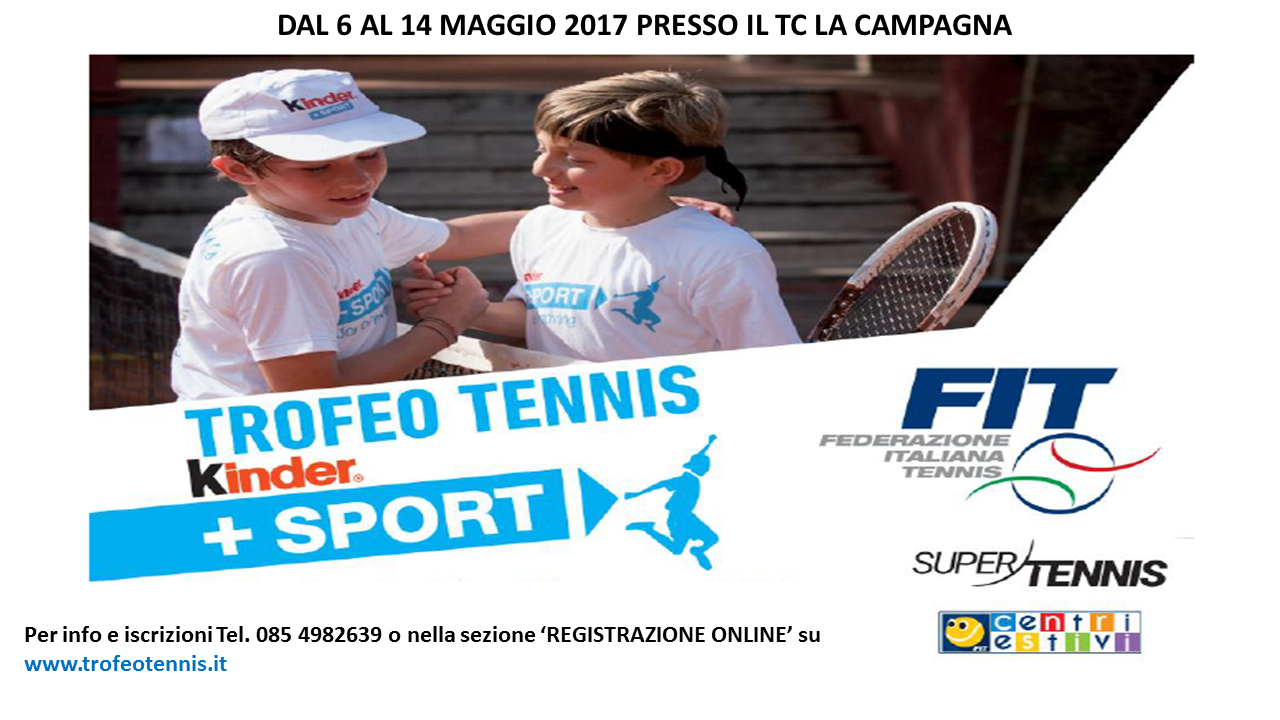 trofeo tennis kinder 2017
